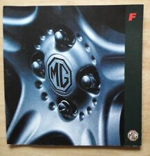 MG MGF original 1995 GB Mkt Grand Format 32 Page Prestige Brochure - 1.8i VVC