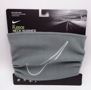 Nike Fleece Neck Face Warmer 2.0 Smoke Grey/White Men's Women's