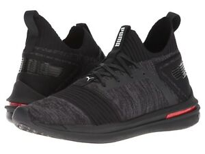 Men's Shoes PUMA Ignite Limitless Sr evoKNIT 19048401 Black New