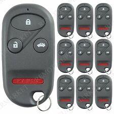 Lot 10 Wholesale Bulk Entry Remote Key Fob for Acura 99-03 TL Honda 98-02 Accord