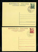 Trieste A Sassone Catalogue 14 and 15 First Day Covers Scarce