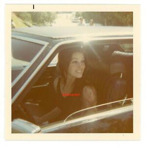 """ELVIS PRESLEY ~ Original Vintage Photo ~ Glossy 3.5"""" X 3.5"""" ~ PRISCILLA ~ 1970"""