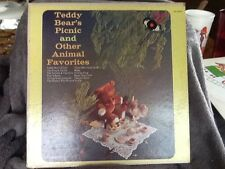 Teddy Bear's Picnic And Other Animal Favorites LP VG HT-1023 Record case