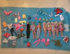 5 1987 Barbie Dolls & 3 1990 Back Street Boys Dolls