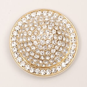 Popits Jeweled Dome Gold With Crystals Charms