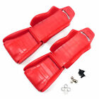 Yeah Racing YA-0540RD Hard Plastic Seats (2pcs) 1/10 Crawler Red