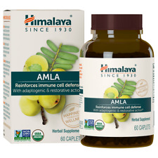 Himalaya AMLA 60 Caplets  Total Immune Cell Defense Organic 9/2022