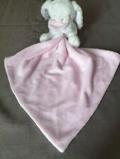 Pink Bunny Baby Comforter From George