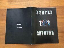 "ORIGINAL Lynyrd Skynyrd 1977 Survivors Tour Concert Program Tour Book VG 9 x 12"""