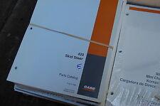 Case 420 Skid Steer Loader Parts Manual Book Catalog Spare List Mini 2004 2005