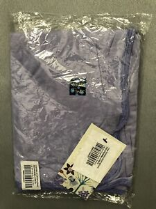 Kickee Pants Swaddling Blanket ~ Lilac With Forget Me Not ~ NEW!