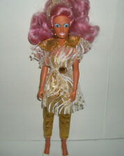 Jem 80's Vtg Hasbro Clothes Doll Fashion #12 Raya Music is Magic Outfit Earrings