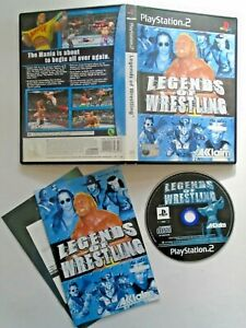Legends Of Wrestling - Sony PS2 (2001) Complete with Manual & Mint Disc