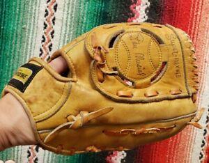 Vtg STAN MUSIAL Hall of Fame Professional Model Baseball Glove Made in Japan