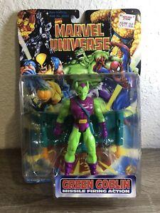 ToyBiz 1997 Marvel Universe Green Goblin Missile Firing Action 5.5 Inch Figure
