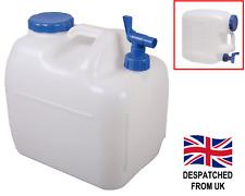 Water Liquid Container Carrier Jerry Can Camping Caravan Campervan Handle & Tap