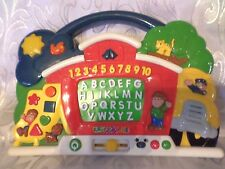"""Alphabet Counting Shapes Educational Carry Along Interactive Sound Toy 9""""x12"""""""