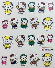 Nail Art Water Decals Hello Kitty and Friends BLE320