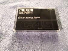 MAXELL COMMUNICATOR SERIES C45 CASSETTE TAPE - NEW