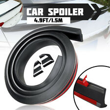 4.9Ft/1.5M Universal Car Rear Roof Trunk Spoiler Lip Wing Tail Trim Flexible