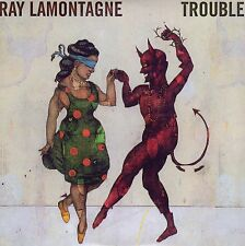 RAY LAMONTAGNE TROUBLE CD SINGLE PROMO CARPETA CARTON