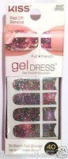 Kiss Nail Gel Dress Gel Polish Solution Gel Strips # 60457 Moon Shine Dfrnt Styl