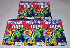 Incredible Hulk 181 True Believers 1st Wolverine HIGH GRADE NM Lot Of 5 Copies