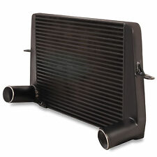 """3"""" BLACK FRONT MOUNT ALLOY INTERCOOLER FMIC TO FORD SIERRA ESCORT RS500 COSWORTH"""