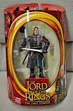 BATTLE 5 ARMIES  LORD OF THE RINGS TWO TOWERS KING THEODEN IN ARMOR SWORD ACTION