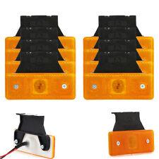 8 x LED 12V 24V Volt Gelb Begrenzungsleuchte Positionsleuchte LKW PKW Anhänger