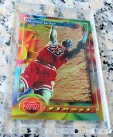 MICHAEL JORDAN 1993 Topps Finest RARE Chicago Bulls HOF 6 x Champion MVP $ HOT $