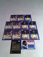 *****Carl Brazley*****  Lot of 21 cards.....3 DIFFERENT / Football / CFL