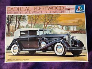 Italeri 1:24 Cadillac Fleetwood 1933 16Cyl Phaeton Model Car Kit #706 *COMPLETE*