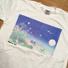 New listing Vintage 90s Flight Of Time Psychedelic Escher Style T Shirt Colorful Unique XL