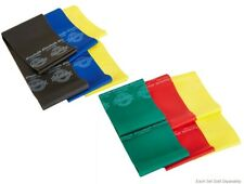 Thera-band Pre-Cut Non Latex Resistance Bands Latex Free Combo Packs 5, 6 or 9ft