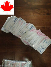100 BULK Ovulation Fertility test strips High Sensitivity FROM CANADA Expedited