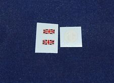 #56 Dinky Decals for 23p Gardner's MG logo and flags
