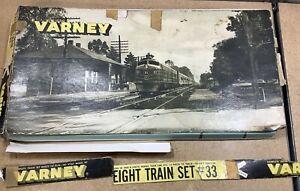 HO, Vintage VARNEY Freight Train Set #33, 5 Cars, train locomotive