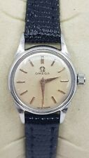Omega Ladies Stainless Steel Swiss Made Cocktail Watch Cal 244 Ref 2510