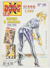 BD adultes  Bédé X N°76, Recueil des numéros 138 - 139