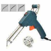 EU 220V 60W Auto Welding Electric Soldering Iron Temperature Gun Solder Tool Kit