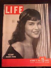 Life Magazine Allegro Broadway Opening October 1947