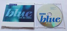 Eiffel 65-Blue (Da Ba Dee) - CD MAXI MCD [Hannover Remix)