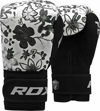 RDX Ladies Kick Boxing Gloves MMA Punch Bag Womens Gym Pro Style Muay Thai Mitts