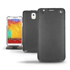 Unifarbene Handy-Taschen & -Schutzhüllen aus Leder für das Samsung Galaxy Note 3