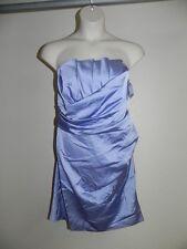 Davids Bridal Dress Size 16 Bluebird Crumb Catcher Strapless Bridesmaid NWT