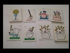 SILVER: LUPO ALBERTO mazzo incompleto con carte da gioco