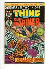 Marvel  Two-In-One #2 Sub-Mariner vs The Thing! Wundarr App! 1974 Value Stamp OK