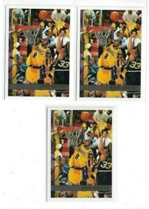 LOT OF (3) KOBE BRYANT 1997-98 TOPPS #171 LAKERS 2ND YEAR