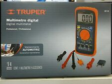 MUT-105 Professional Digital multimeter Truper with accessories